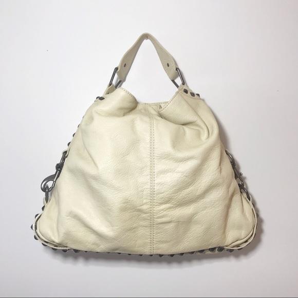 Rebecca Minkoff Handbags - Rebecca Minkoff Nikki Stuff Hobo Pale Yellow Bag